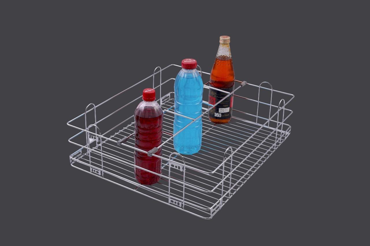 SS Bottle Basket