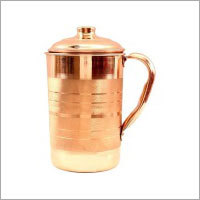 Pure Copper Designed Luxury Jug