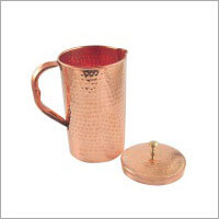 Pure Copper Hammered Luxury Water Jug