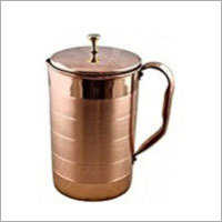 2000 Ml Pure Copper Silver Touch Jug