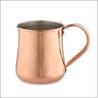 Copper Hammered Belly Mule Mug