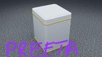 Square Metal Tin Boxes