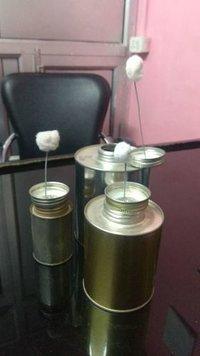 Pvc Solvent Tin Box