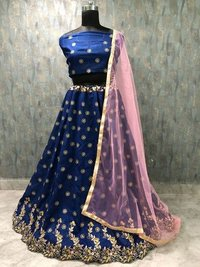 Ladies Printed Lehengas