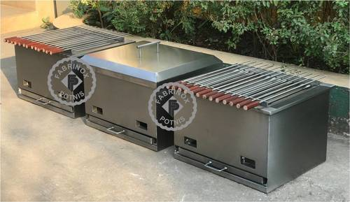 Commercial Stainless Steel Barbecue
