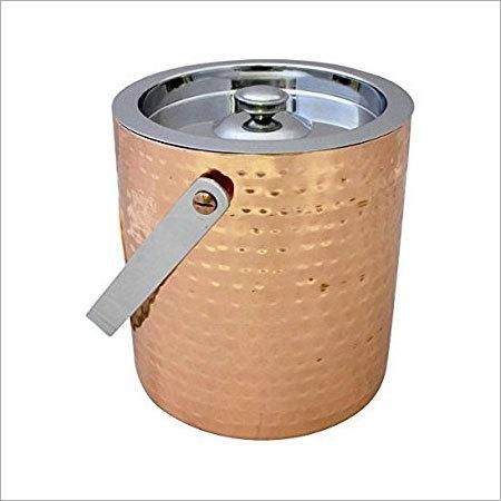 Round ice bucket