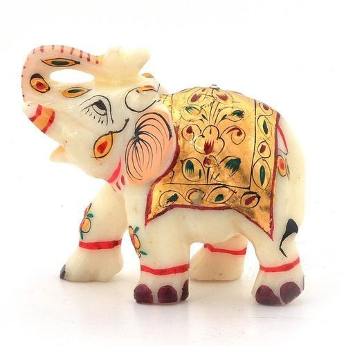 Marble Elephant Statues