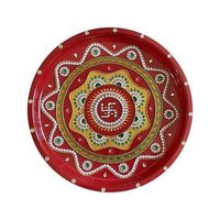 Traditional Round Shape Pooja Thali