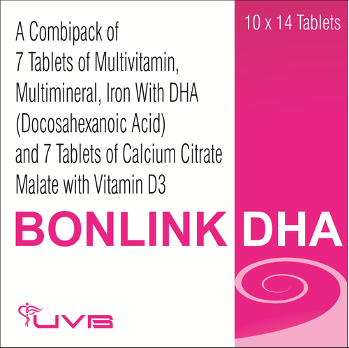 Ferrous Ascorbate & Vitamin & Mineral With DHA