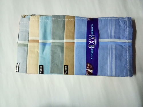 Mens Handkerchief 2500-W01 Pieces