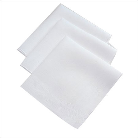 Plain Cotton Handkerchief
