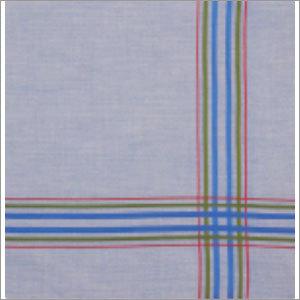 Striped Border Handkerchief