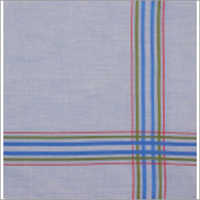 Striped Border Handkerchief