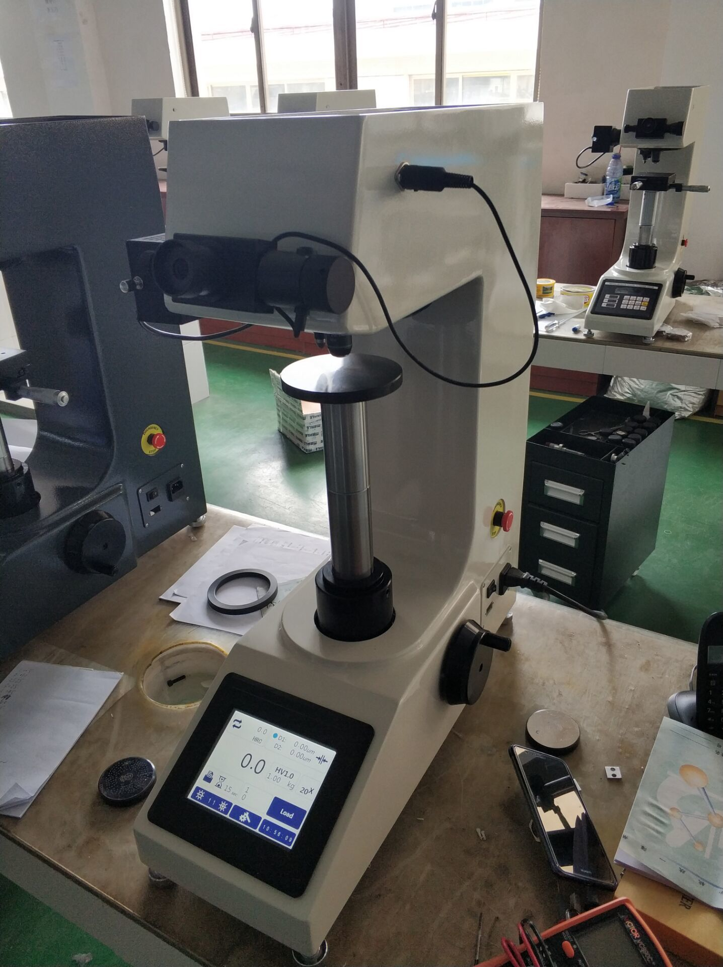 Vickers Hardness Tester Machine