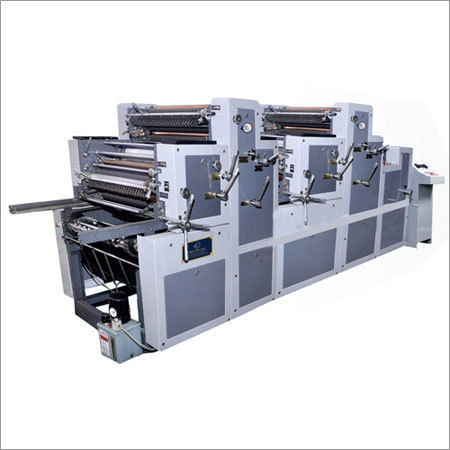 Satellite Four Color Non Woven Printing Machine