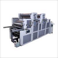 Satellite Three Color Non Woven Printing Machine