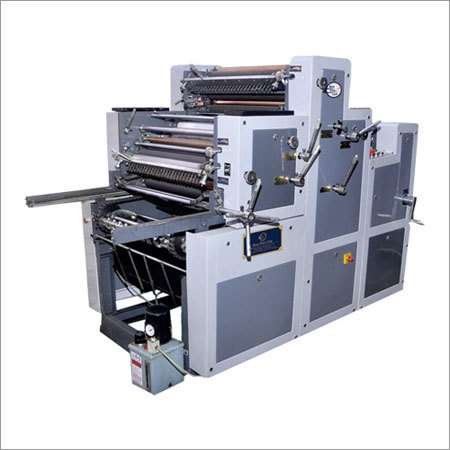 Satellite Two Color Non Woven Printing Machine