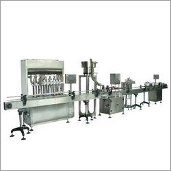 Oil Filling Capping and Labeling Machine