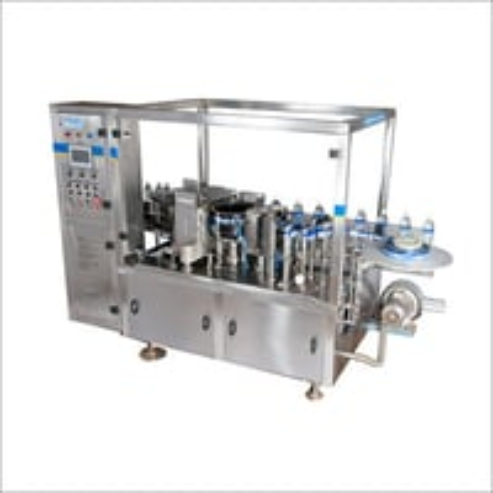 Round Bottle Bopp Labelling Machine