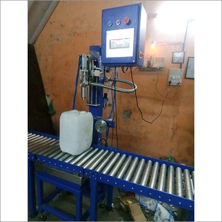 Weighmetric Oil Filling Machine