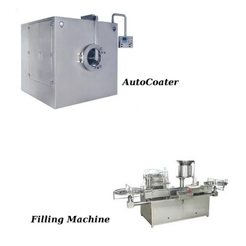 Auto Coater & Filling Machine