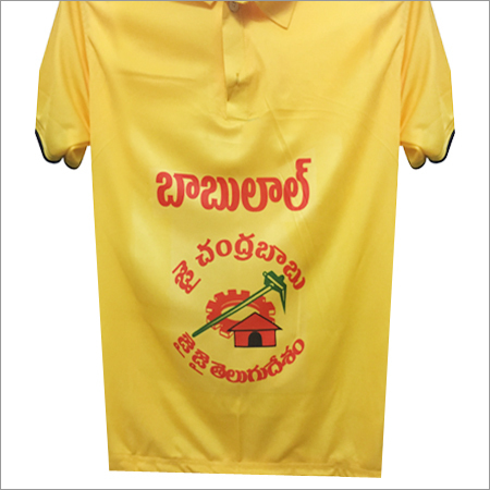 Yellow Election T Shirt