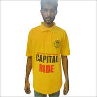 Yellow Election T Shirt Front