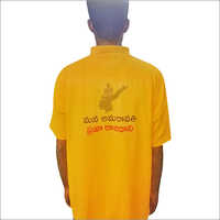 Yellow Election T Shirt Back
