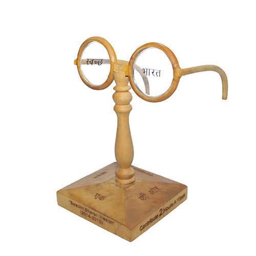 Swatch Bharat Wooden Trophy