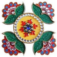 Stylish Lotus Rangoli