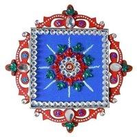 Designer Glitter Rangoli