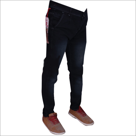 Black Shaded Mens  Jeans