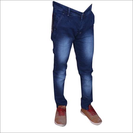 Hard Wash Mens Regular Fit Streachable Jeans