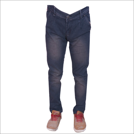 Coffee Shaded Mens Regular Fit Strechable Jeans