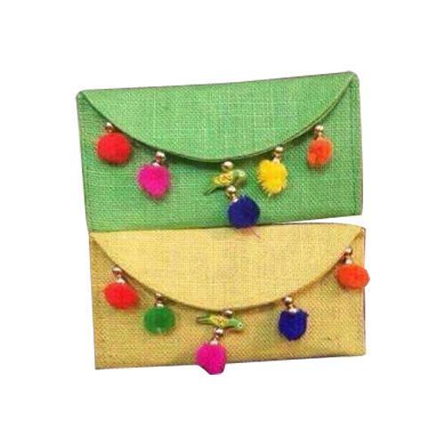Ladies Jute Handicrafts Hand Bag