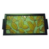 Designer Handicraft Wooden Tray
