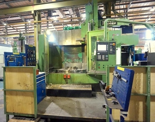 Used CNC Vertical Lathe