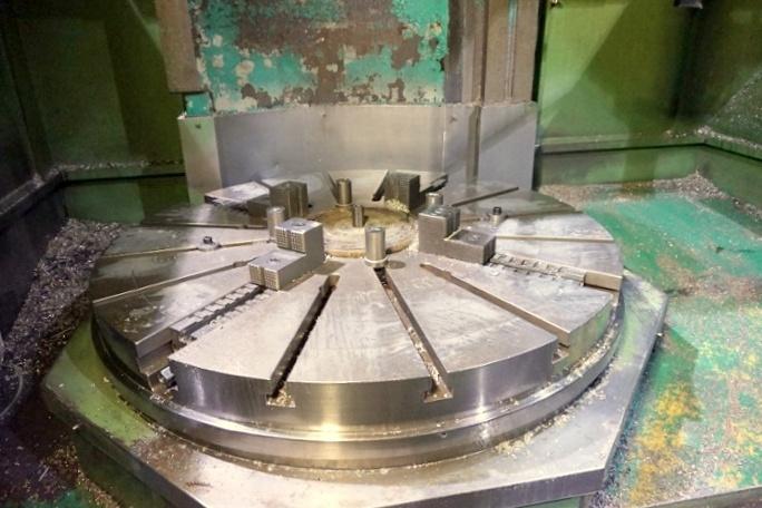 Used CNC Vertical Lathe