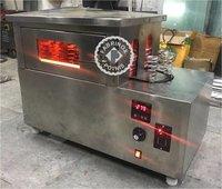 STAINLESS STEEL CONE PIZZA MACHINE HORIZONTAL