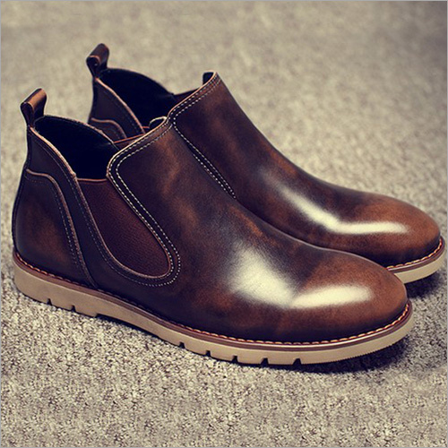 Mens Finish Leather Shoes