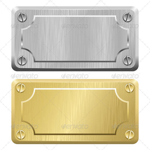 Metal Label NamePlate