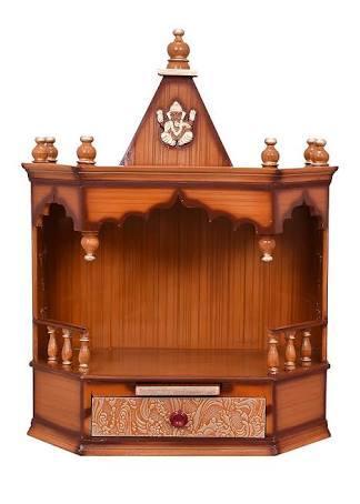 Wooden Pooja Ghar