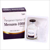 Merozen 1000 Injection