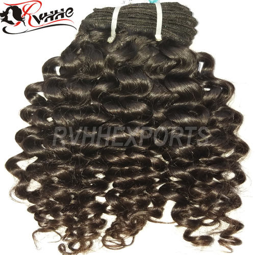 On Sale Cheap 100% Human Hair Weave Indian Virgin Hair Spring Wave Curly Hair