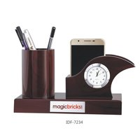 Clock Pen Holder