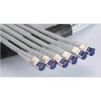 C6A SFTP 23AWG solid wires trunk cable, solid wire plug