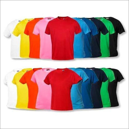 Mens Round Neck Plain T Shirt