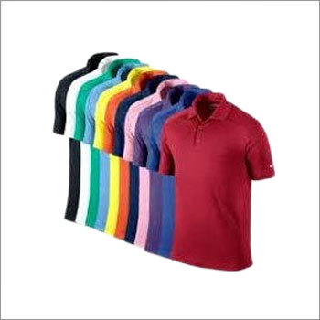 Mens Cotton Polo T-Shirt