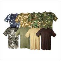 Military Round Neck T-Shirts