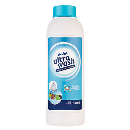 Hyvest Ultrawash Liquid Laundary detergent.